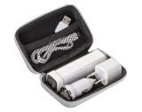 Travel Set - Powerbank, EU-Stecker, USB-Ladegerät